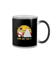 COME AND TAKE  IT pug Color Changing Mug thumbnail