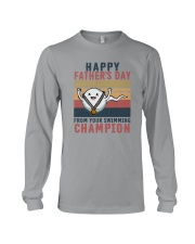 HAPPY FATHER'S DAY FROM YOUR SWIMMING CHAMPION Long Sleeve Tee thumbnail