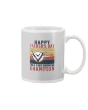 HAPPY FATHER'S DAY FROM YOUR SWIMMING CHAMPION Mug thumbnail