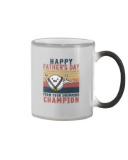 HAPPY FATHER'S DAY FROM YOUR SWIMMING CHAMPION Color Changing Mug thumbnail