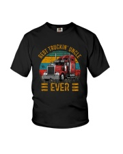 BEST TRUCKIN' UNCLE EVER VINTAGE Youth T-Shirt thumbnail