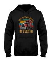 BEST TRUCKIN' UNCLE EVER VINTAGE Hooded Sweatshirt thumbnail