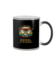I LOVE THE SMELL OF DIESEL IN THE MORNING Color Changing Mug thumbnail