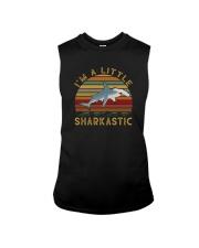 I'M A LITTLE SHARKASTIC Sleeveless Tee thumbnail