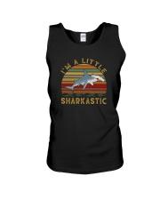 I'M A LITTLE SHARKASTIC Unisex Tank thumbnail