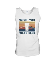 WISH YOU WERE BEER Unisex Tank thumbnail