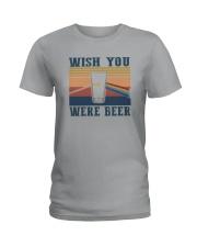 WISH YOU WERE BEER Ladies T-Shirt thumbnail