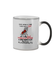 A GIRL LOVED PITBULLS AND TATTOOS Color Changing Mug thumbnail