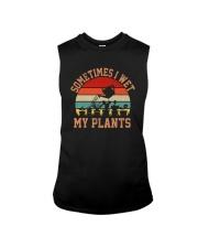SOMETIMES I WET MY PLANTS Sleeveless Tee thumbnail