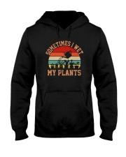 SOMETIMES I WET MY PLANTS Hooded Sweatshirt thumbnail