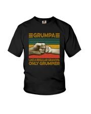 GRUMPA LIKE A REGULAR GRANDPA ONLY GRUMPIER Youth T-Shirt thumbnail