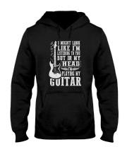 IN MY HEAD I'M PLAYING MY GUITAR Hooded Sweatshirt thumbnail