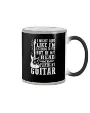 IN MY HEAD I'M PLAYING MY GUITAR Color Changing Mug thumbnail