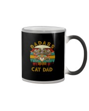 BADASS CAT DAD 2020 Color Changing Mug thumbnail