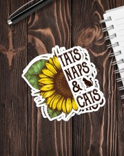 TATS NAPS AND CATS Sticker - 4 pack (Vertical) aos-sticker-4-pack-vertical-lifestyle-front-05