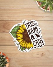 TATS NAPS AND CATS Sticker - 4 pack (Vertical) aos-sticker-4-pack-vertical-lifestyle-front-07
