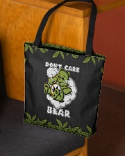DON'T CARE BEAR All-over Tote aos-all-over-tote-lifestyle-front-02