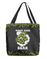 DON'T CARE BEAR All-over Tote back