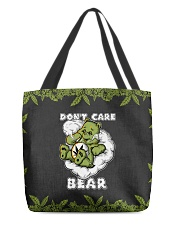 DON'T CARE BEAR All-over Tote front