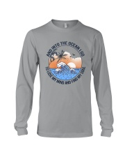 AND INTO THE OCEAN I GO FIND MY SOUL Long Sleeve Tee thumbnail