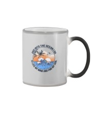 AND INTO THE OCEAN I GO FIND MY SOUL Color Changing Mug thumbnail
