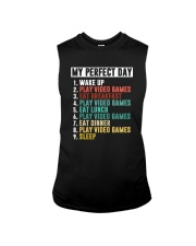 MY PERFECT DAY GAME Sleeveless Tee thumbnail