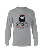 2020 THE YEAR WHEN SHIT GOT REAL Long Sleeve Tee thumbnail