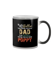 MY CHILDREN HAVE POPPY  Color Changing Mug tile