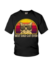 BEST CAT DAD EVER VT Youth T-Shirt thumbnail