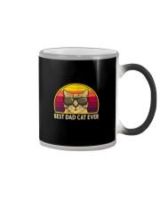 BEST CAT DAD EVER VT Color Changing Mug thumbnail
