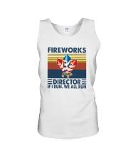 FIREWORKS DIRECTOR Unisex Tank thumbnail