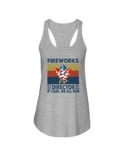 FIREWORKS DIRECTOR Ladies Flowy Tank thumbnail
