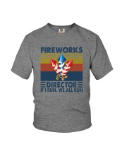 FIREWORKS DIRECTOR Youth T-Shirt thumbnail