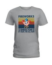 FIREWORKS DIRECTOR Ladies T-Shirt thumbnail