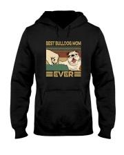 BEST BULLDOG MOM EVER s Hooded Sweatshirt thumbnail