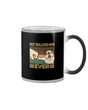 BEST BULLDOG MOM EVER s Color Changing Mug thumbnail