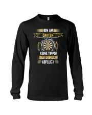 BIN AM DARTEN KEINE TIPPS BIER BRINGEN ABFLUG Long Sleeve Tee thumbnail