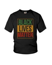 BLACK LIVES MATTER AFRICA Youth T-Shirt thumbnail