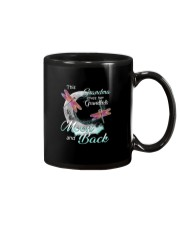 GRANDMA LOVES HER GRANDKIDS TO THE MOON AND BACK Mug tile