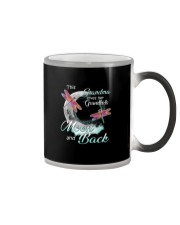 GRANDMA LOVES HER GRANDKIDS TO THE MOON AND BACK Color Changing Mug thumbnail