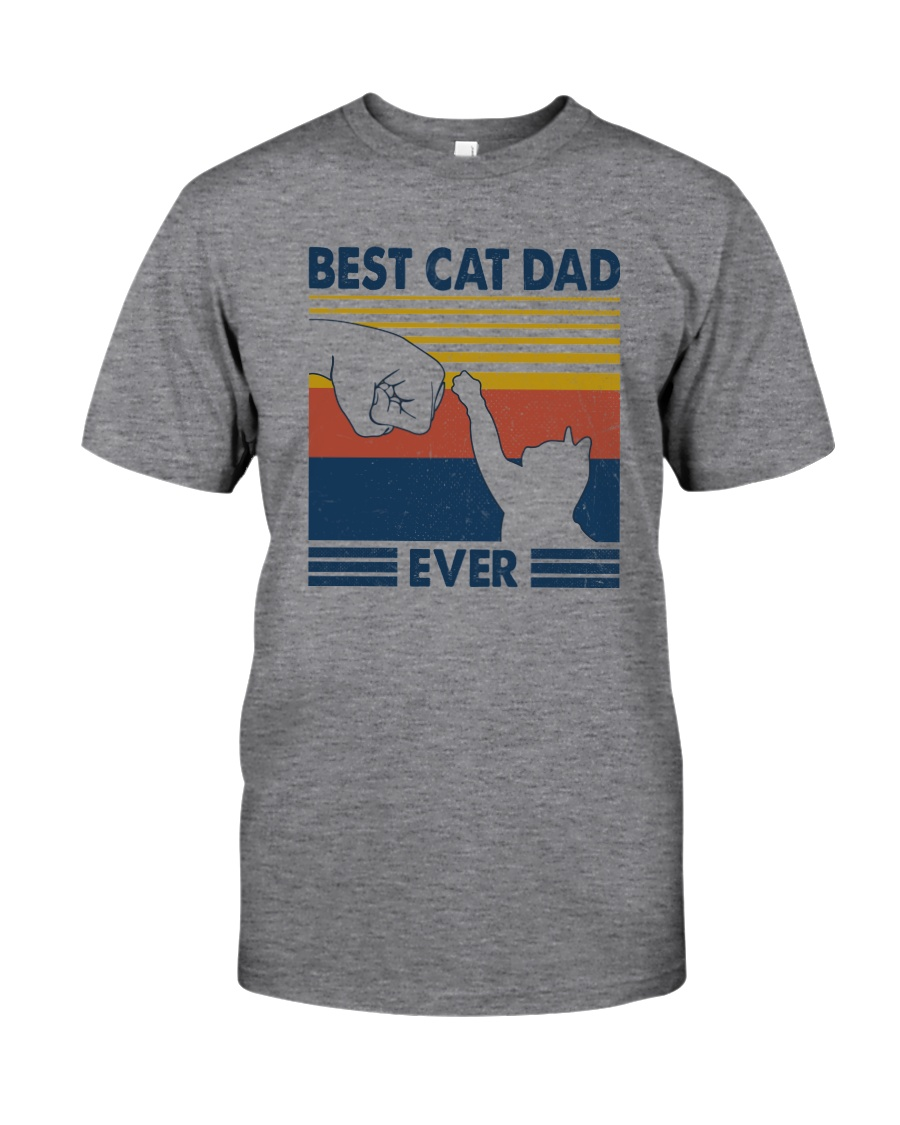 BEST CAT DAD EVER Classic T-Shirt
