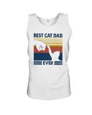 BEST CAT DAD EVER Unisex Tank thumbnail
