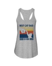 BEST CAT DAD EVER Ladies Flowy Tank thumbnail