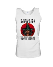 YOU JUST FLIPPED MY WITCH SWITCH BLACK GIRL MAGIC Unisex Tank tile