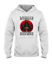 YOU JUST FLIPPED MY WITCH SWITCH BLACK GIRL MAGIC Hooded Sweatshirt thumbnail
