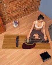 GUITAR Yoga Mat 70x24 (horizontal) aos-yoga-mat-lifestyle-19