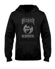 DON'T HATE ME BECAUSE I'M BEARDIFUL Hooded Sweatshirt thumbnail