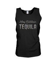 MAY CONTAIN TEQUILA Unisex Tank thumbnail