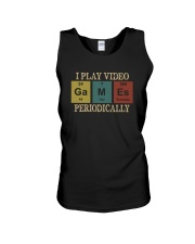 I PLAY VIDEO GAMES PERIODICALLY Unisex Tank thumbnail
