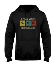 I PLAY VIDEO GAMES PERIODICALLY Hooded Sweatshirt thumbnail